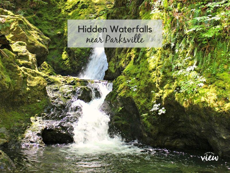 Hidden Waterfalls near Parksville