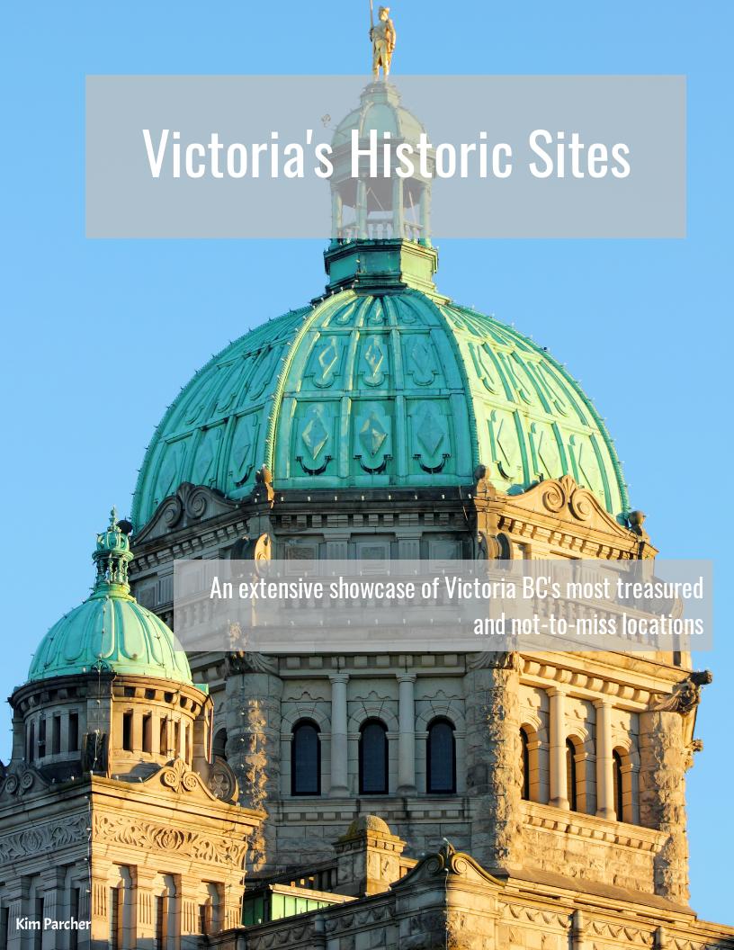 Victoria's Historic Sites. Vancouver Island View