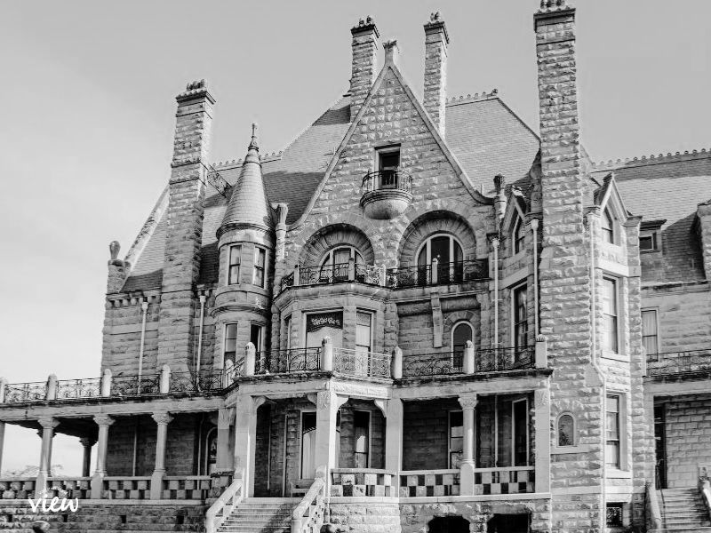 This haunted castle is a must see place on our Vancouver Island Fall Bucket List